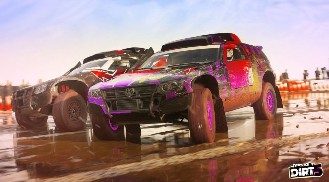 First proper gameplay trailer released for Dirt 5, showcases Stampede mode