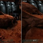 Doom 3 HD AI-Enhanced Textures Screenshots-2