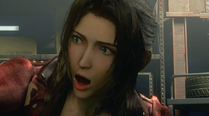 You can now play as Aerith from Final Fantasy 7 Remake in Resident Evil 3 Remake