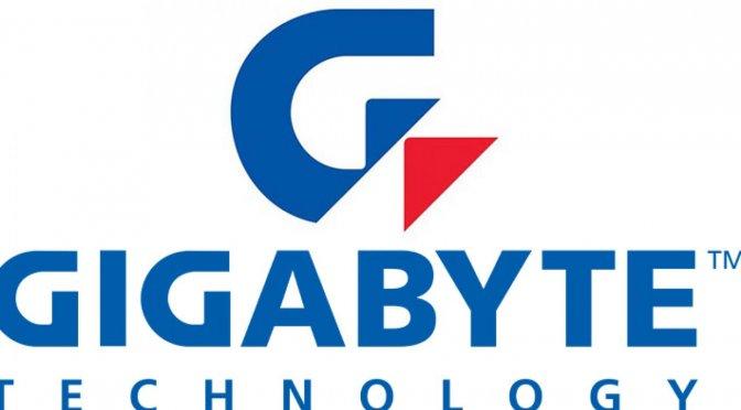 Gigabyte logo header image