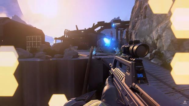 Halo Infinite BR55 Battle Rifle