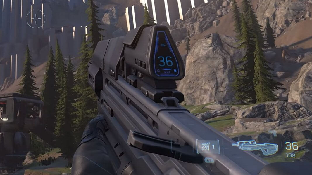 Halo Infinite Assault Rifle (Rifle/Kinetic/Auto)
