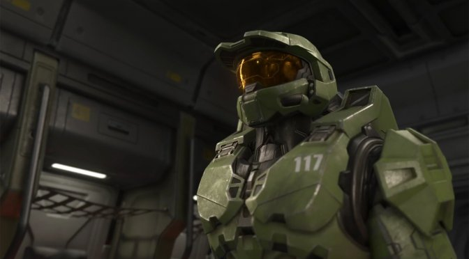 First single-player gameplay video for Halo: Infinite, showing 8 minutes of in-game footage