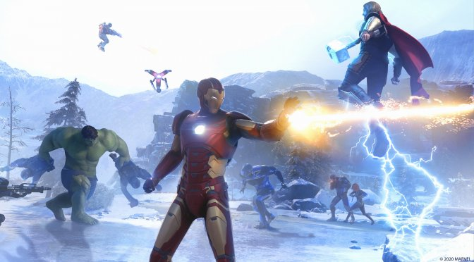 Marvel's Avengers will get a 18GB Day-1 Update, and here is what it will do