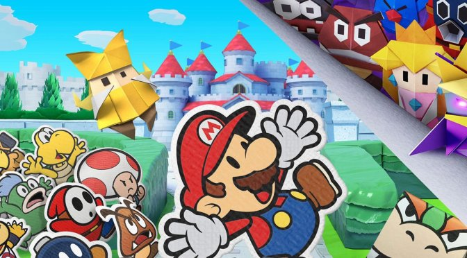 Paper Mario The Origami King feature