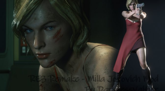"""You can now play as Milla Jovovich """"Alice"""" in Resident Evil 3 Remake"""