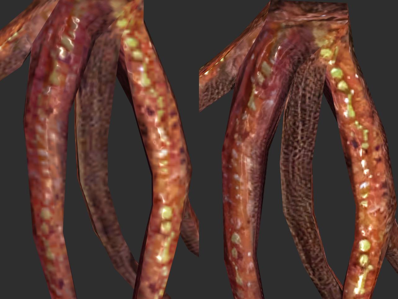 Skyrim Special Edition ESRGAN textures comparison-1