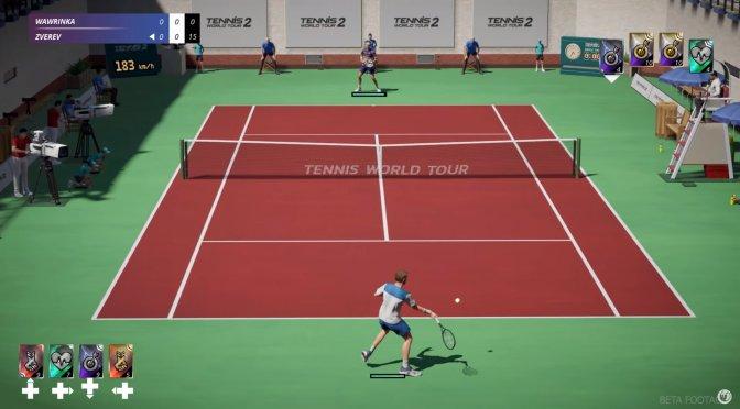NACON announces Tennis World Tour 2, reveals first gameplay video