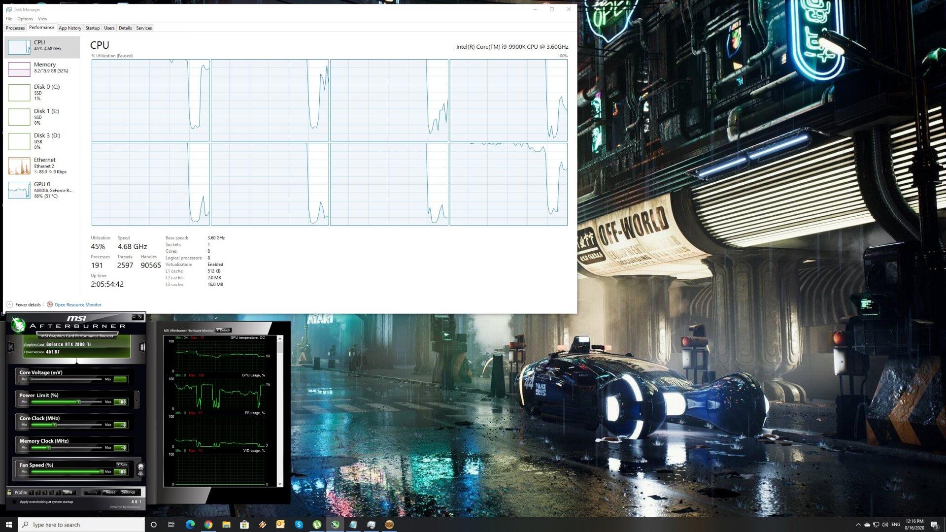 A Total War Saga TROY CPU scaling