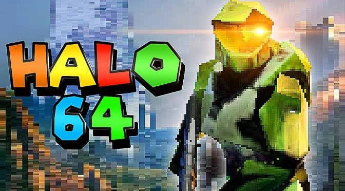 Here is what Halo Infinite could have looked like as a Nintendo 64 game