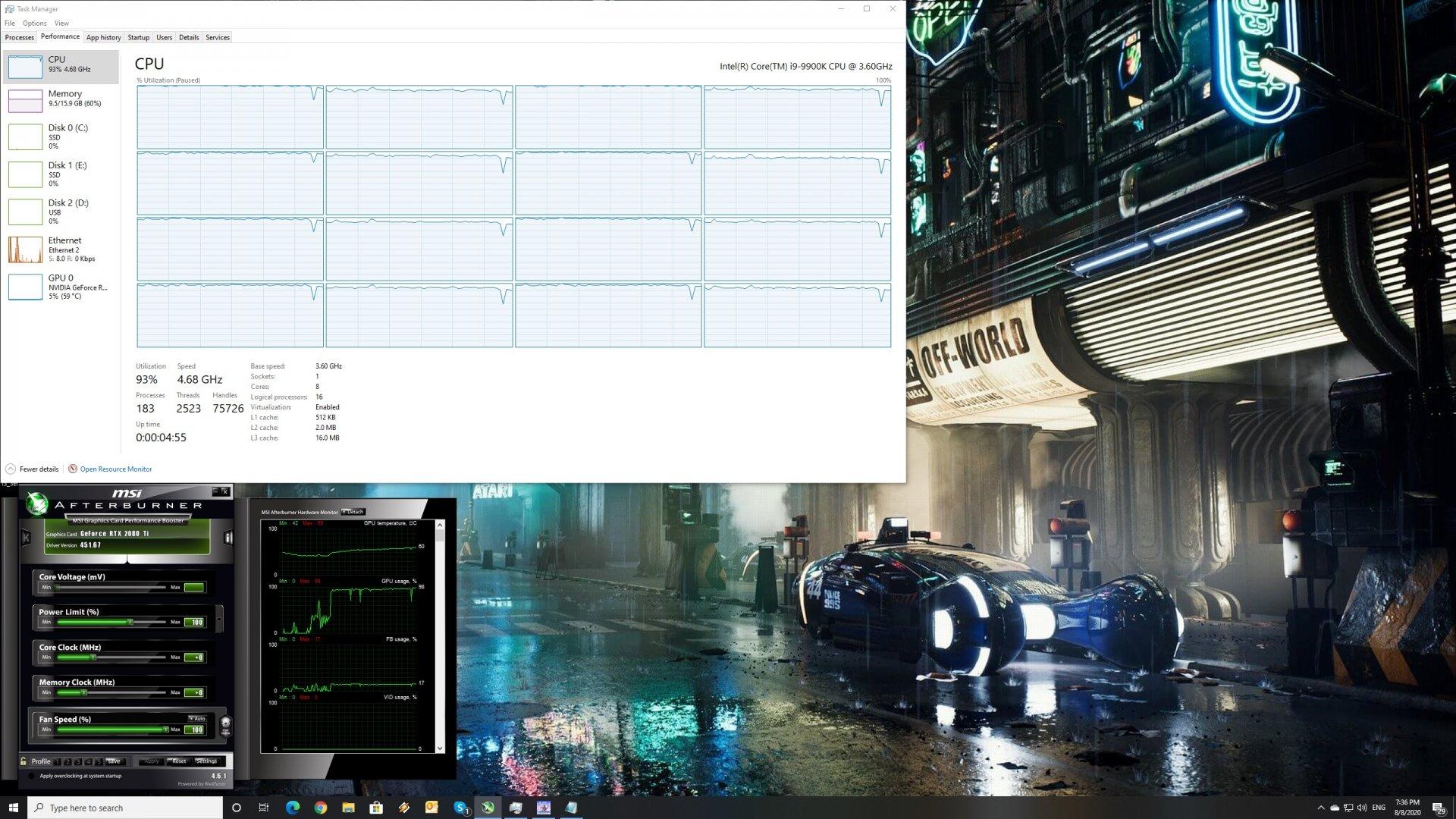 Horizon Zero Dawn CPU scaling
