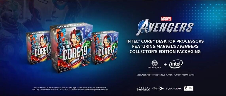 Intel KA Marvels Avengers CPUs