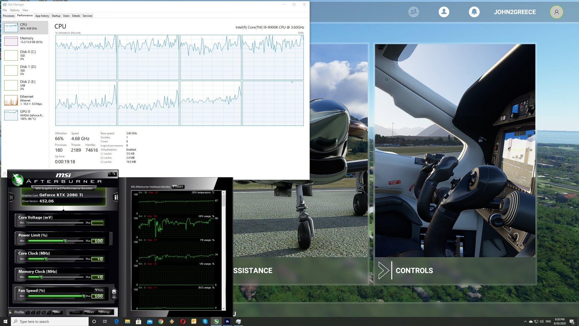 Microsoft Flight Simulator se convierte en el nuevo referente gráfico de PC 2
