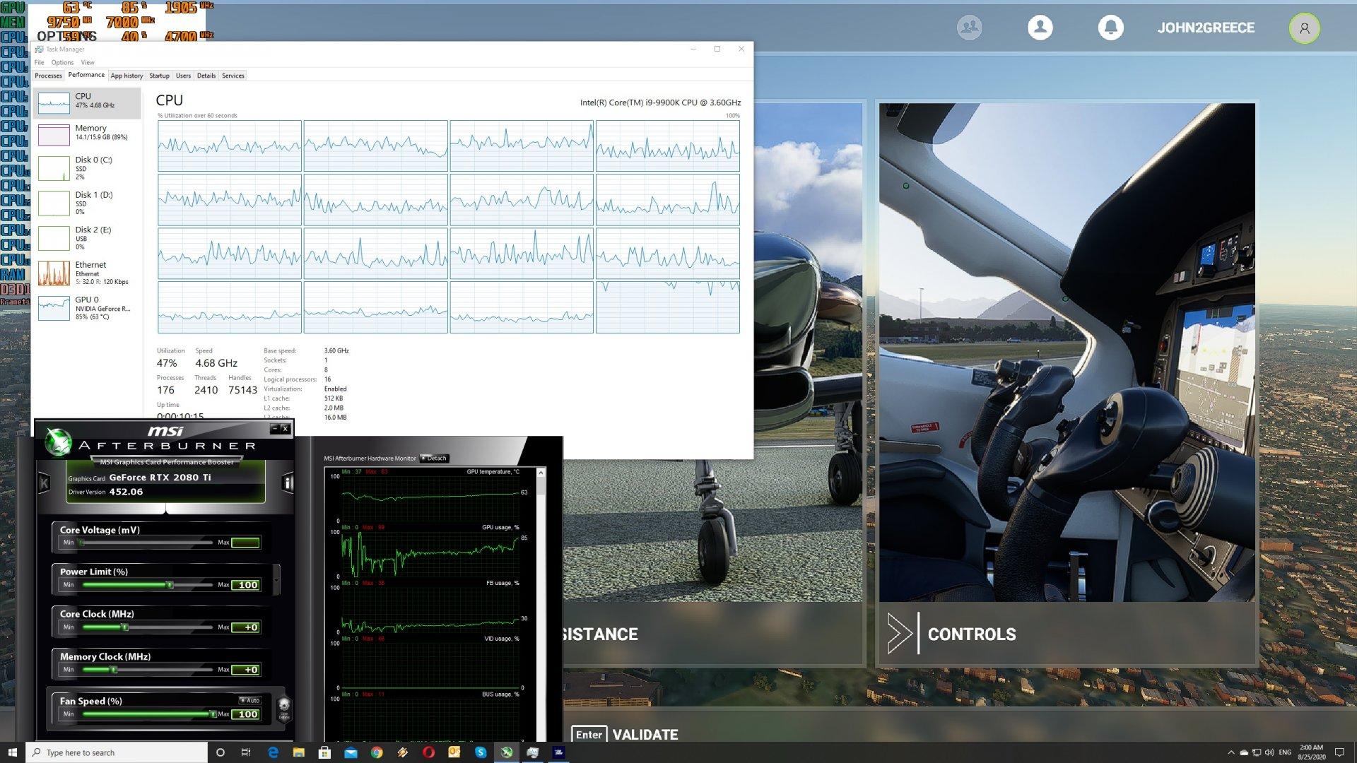 Microsoft Flight Simulator CPU scaling-2