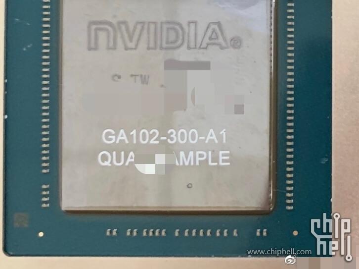 NVIDIA GeForce RTX 3090 Ampere GA102-300 GPU