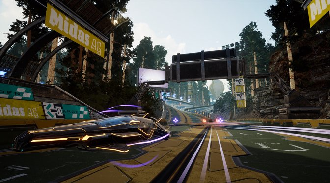 WipEout-inspired anti-gravity racer, PACER, releases on September 17th