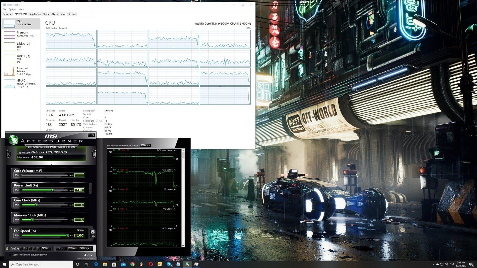 WRC9 CPU scaling