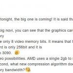 AMD RDNA2 Engineering sample GPU-1