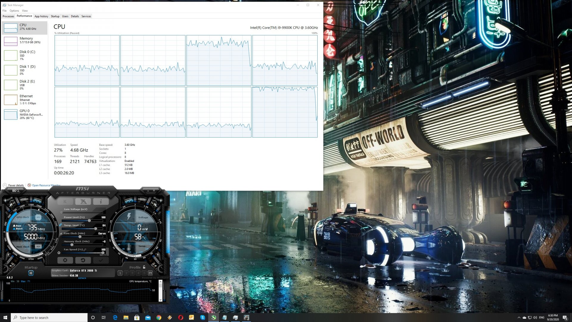 Crysis Remastered CPU scaling
