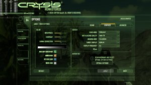 Crysis Remastered PC graphics settings-1