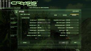 Crysis Remastered PC graphics settings-2