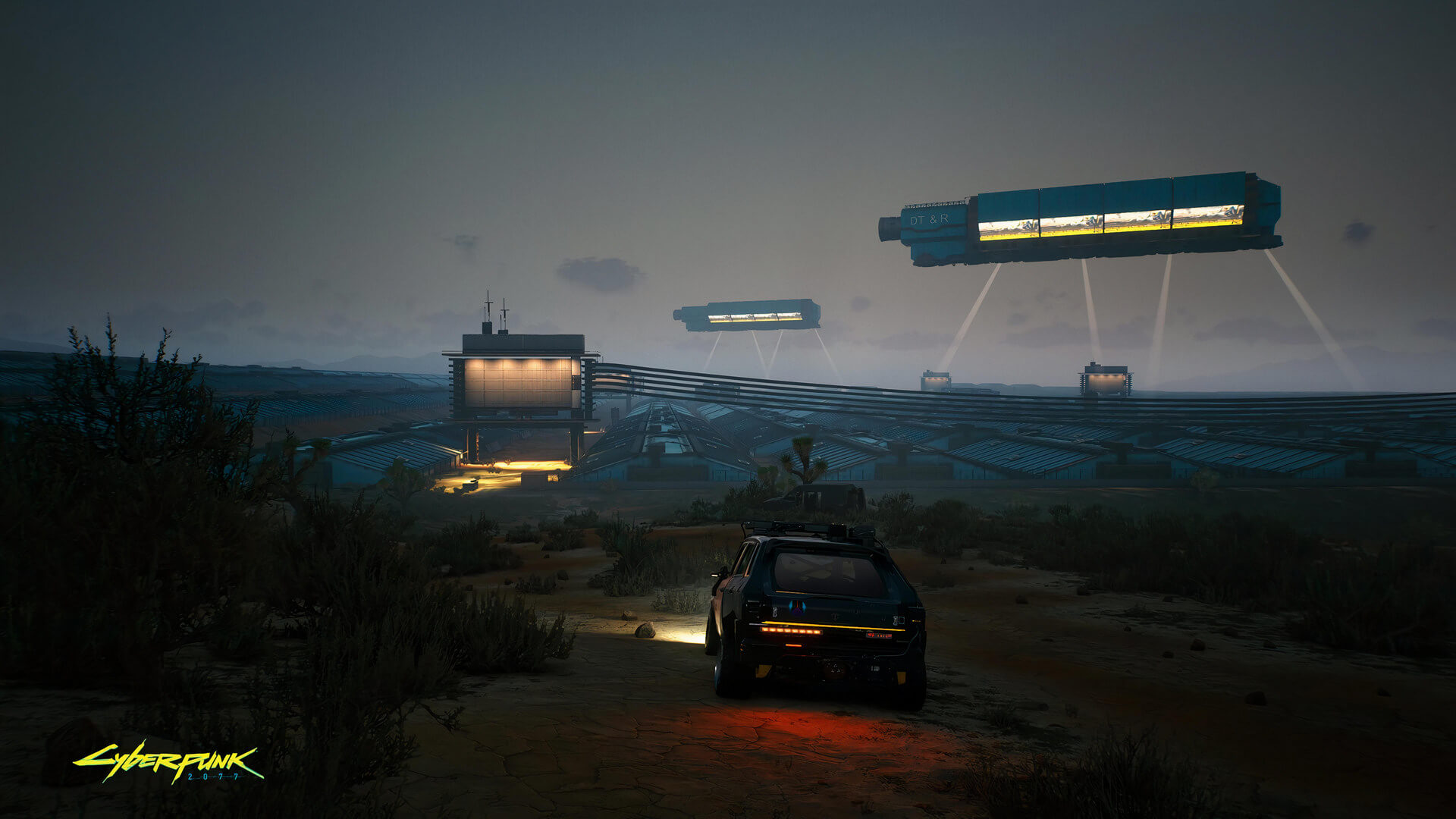 Cyberpunk 2077 Badlands screenshot