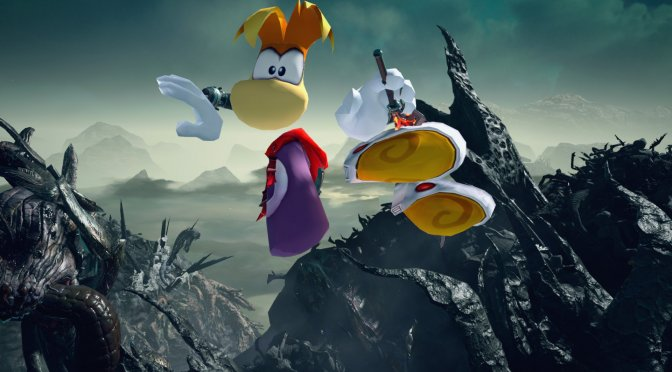 There is an amazing Rayman mod that you can download for Devil May Cry 5