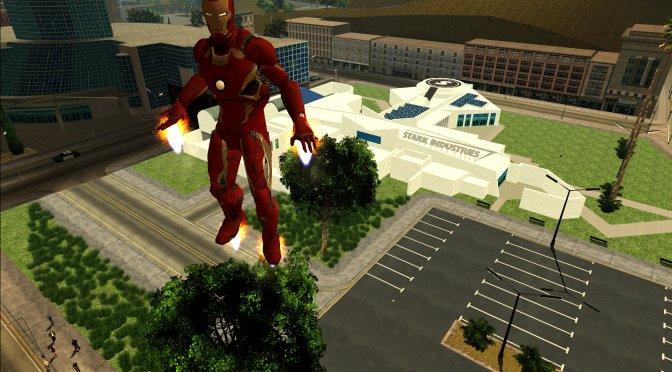 GTA San Andreas Iron Man Mod