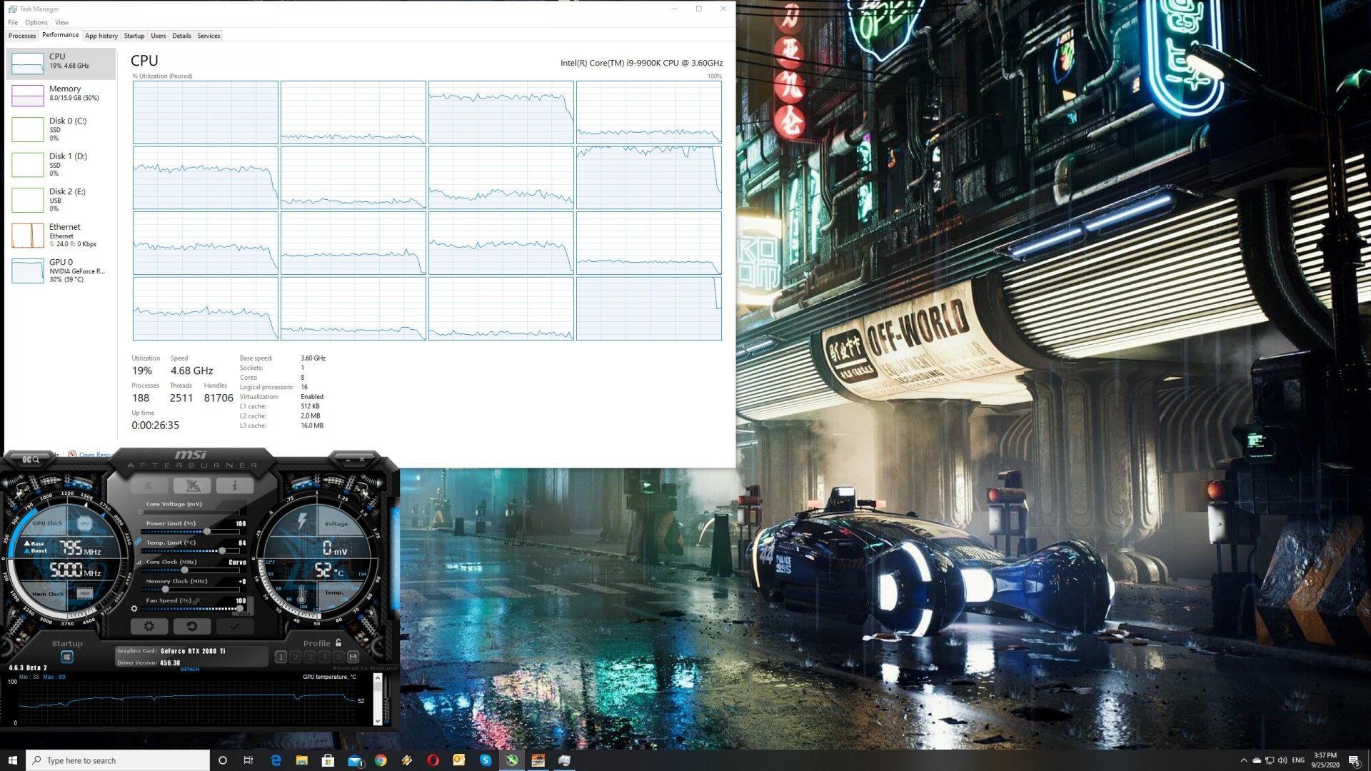 Mafia Definitive Edition CPU scaling