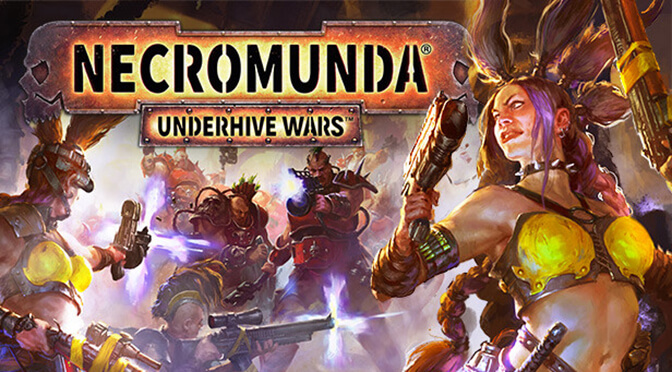 Here are ten minutes of gameplay from Necromunda: Underhive Wars