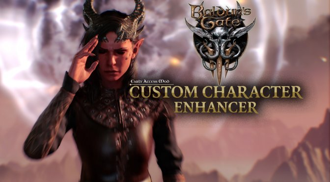 This mod for Baldur's Gate 3 adds more choices in the character creation