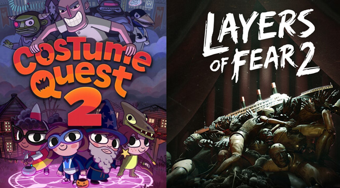 Costume Quest 2 & Layers of Fear 2 are free on Epic Games Store