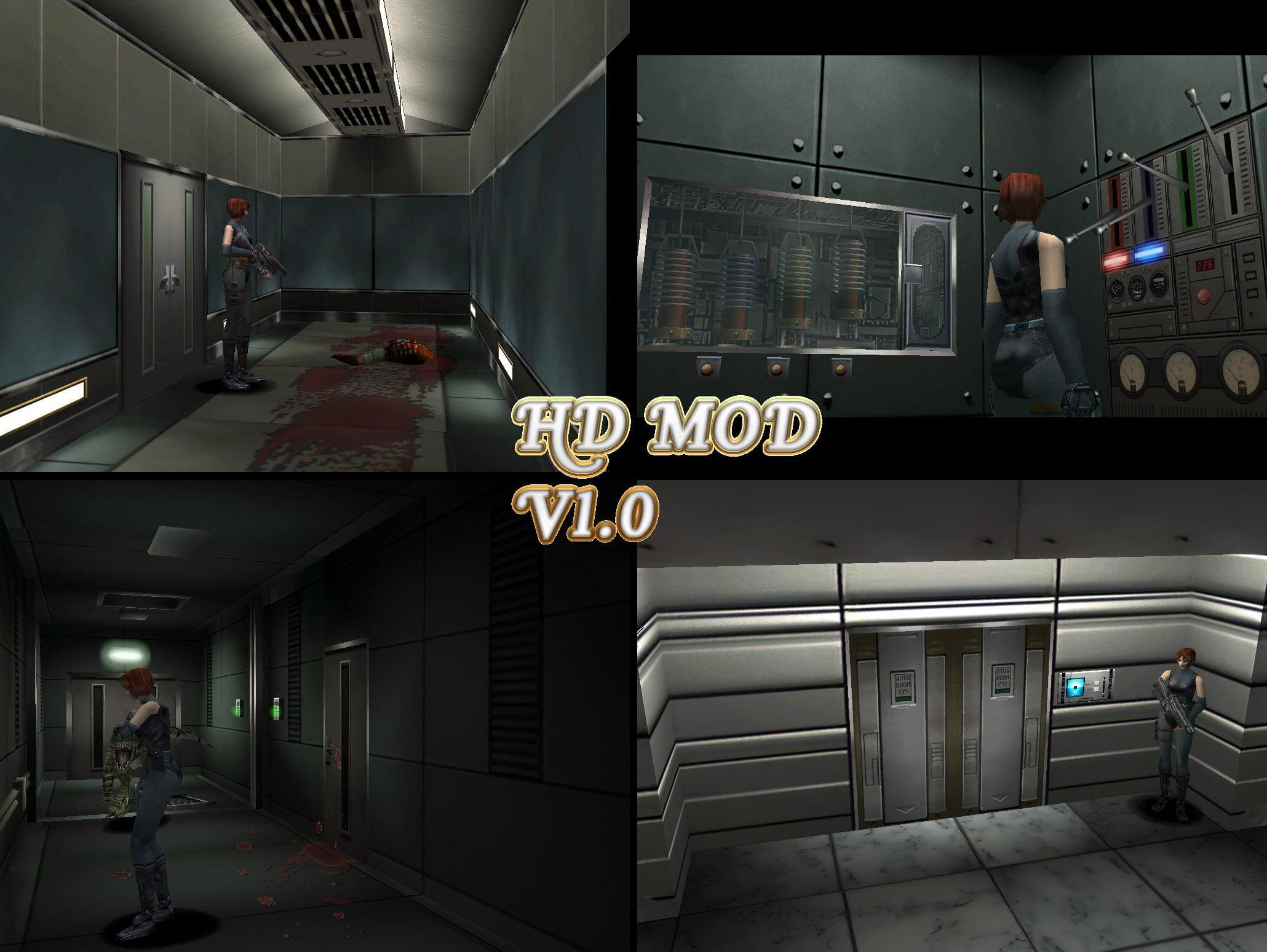Dino Crisis HD Fan Remaster screenshots