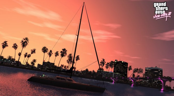 Grand Theft Auto Vice City Remaster in RAGE Engine-1