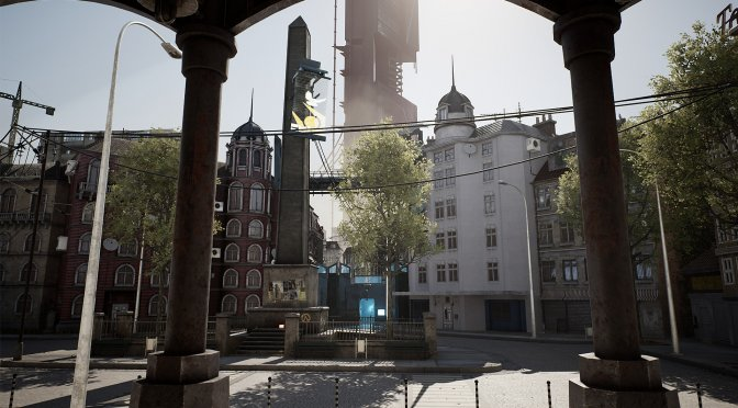 Half Life 2 Plaza Remake in Unreal Engine 4-3