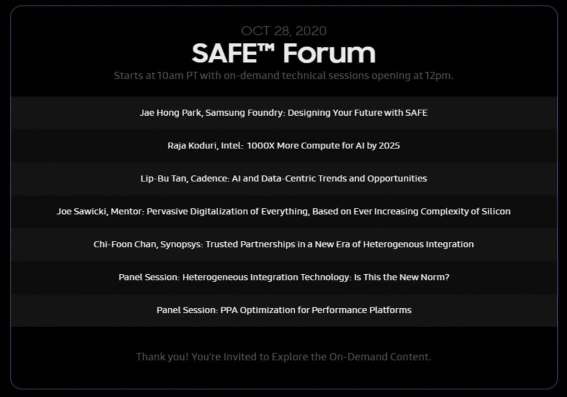 Intel Raja Koduri Samsung Foundry Forum Event-2