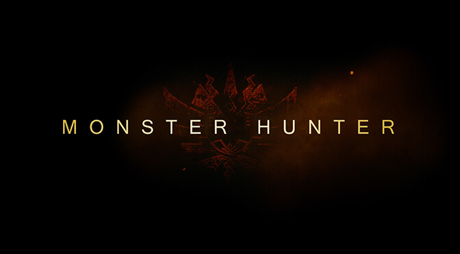 Monster Hunter Movie Header