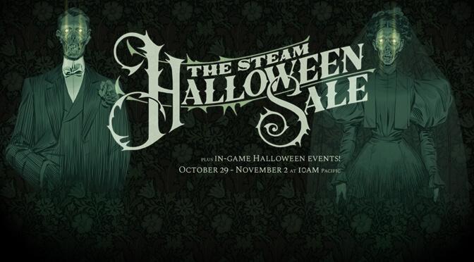 Steam Halloween Sale Header