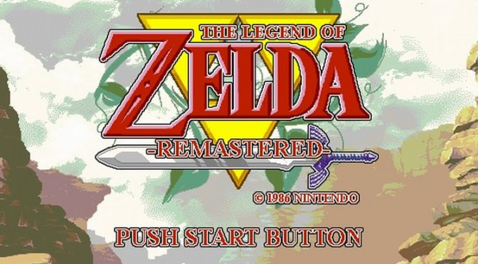 The Legend of Zelda unofficial remaster released for NES Emulator, Mesen
