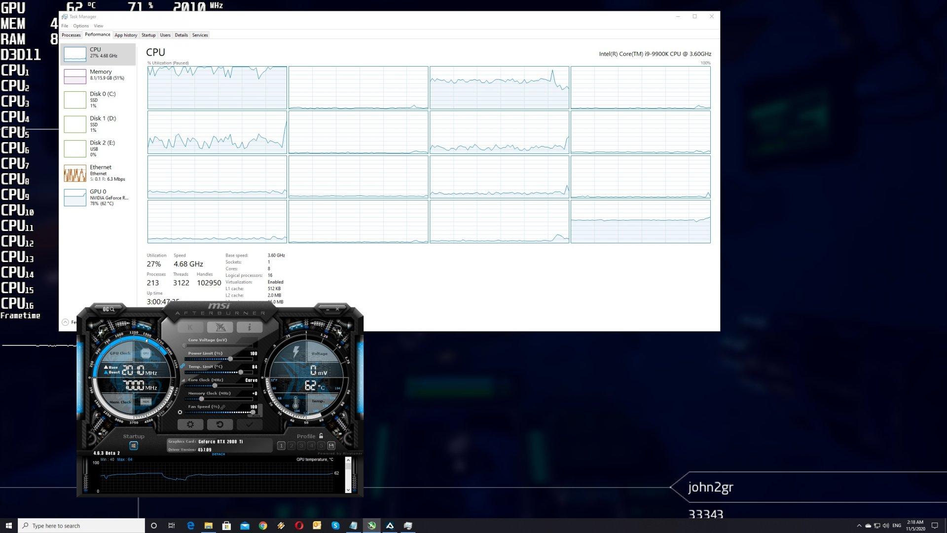 Aquanox CPU scaling