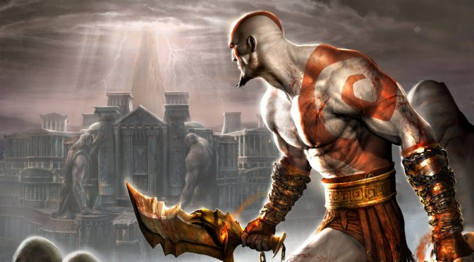 "Playstation 2 classic ""God of War 2"" in 4K with Reshade Ray Tracing on the PC"