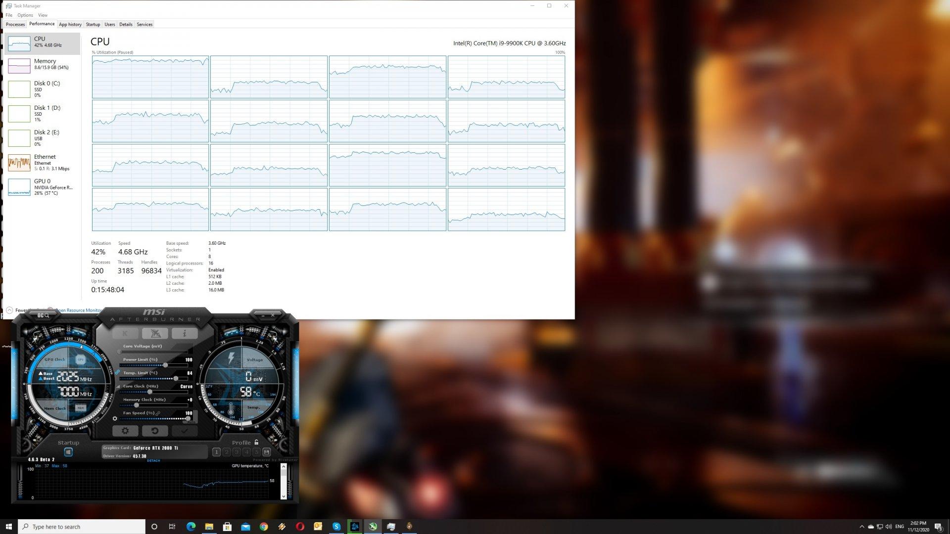 Godfall CPU scaling