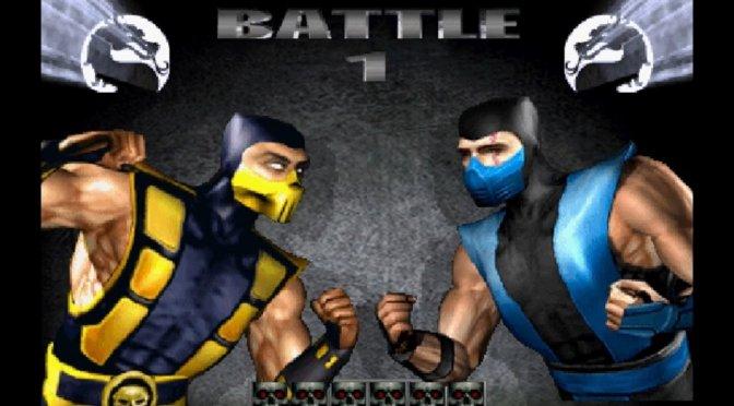 Mortal Kombat 4 Sub-Zero Scorpion