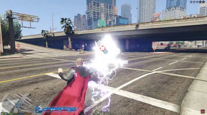 New The Avengers Thor Mod released for Grand Theft Auto 5