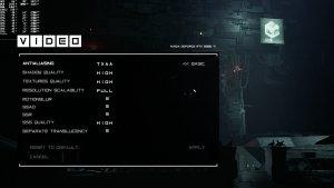 Observer System Redux graphics settings-2