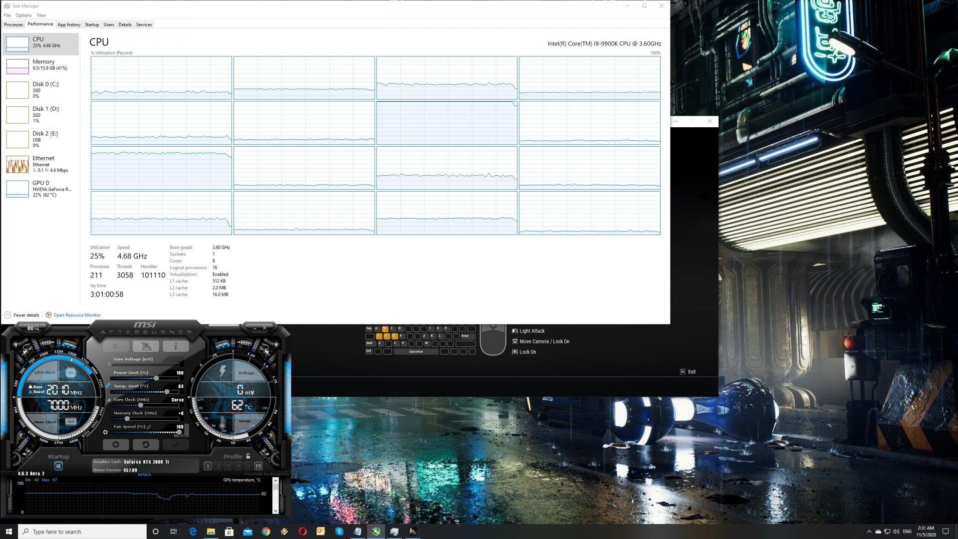 Xuan Yuan Sword VII CPU scaling