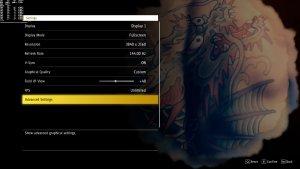 Yakuza Like A Dragon graphics settings-1