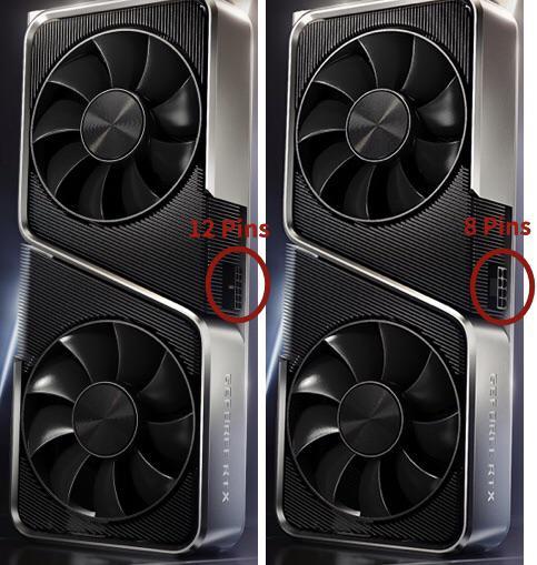 nvidia RTX 8-pin vs 12-pin