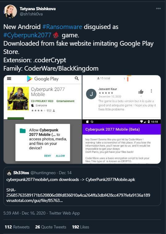 CP2077 malware-1