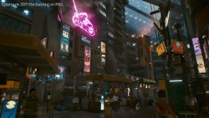 Cyberpunk 2077 PS5 comparison-7